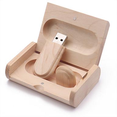 tanie Pamięć flash USB-16GB Pamięć flash USB dysk USB USB 2.0 Drewno Nieregularny Bezprzewodowa pamięć zewnętrzna