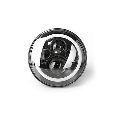 voordelige Autokoplampen-OTOLAMPARA 1 Stuk H4 Automatisch Lampen 40 W Krachtige LED 4400 lm 5 LED Koplamp Voor Jeep Wrangler Alle jaren
