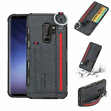 huge discount d9c06 b4ce2 Case For Samsung Galaxy S9 Plus / S9 Wallet / Card Holder ...