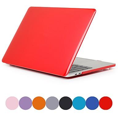 pouzdro macbook pro air pro retina 11 12 13 15 kryt notebooku barevný transparentní matný pvc pouzdro pro macbook nový pro 13.3 15 palců s dotykovým pruhem