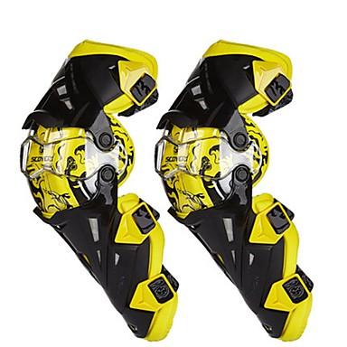 billige Beskyttelsesudstyr-2 stk. Motorcykel beskyttelsesudstyr til knæpude mænds polypropylen fiber sport / vindtæt