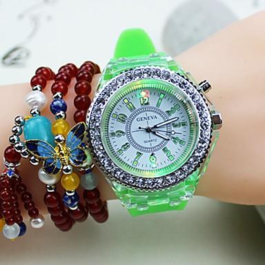 d3cebe2c5f9 Pánské Pro páry Sportovní hodinky Digitální Silikon Černá   Bílá   Červená  Voděodolné Kalendář Svítící Analogové