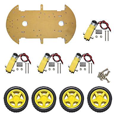smart bil chassis / 4wd hastighed målebil / firehjul / høj effekt magneto st-4wd / single tier