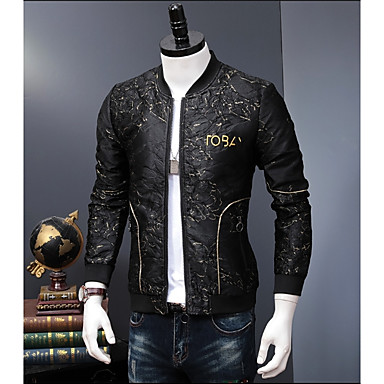 eaa88b2806d cheap Men  039 s Jackets-Men  039 s Daily Fall  amp. Men s Daily Fall   Winter  Plus Size Regular ...