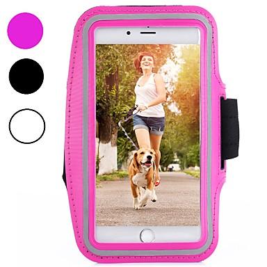 voordelige iPhone 6 hoesjes-hoesje Voor Apple iPhone XS / iPhone XR / iPhone XS Max SportArmband / Schokbestendig / Stofbestendig Armband Effen Zacht Hiilikuitu