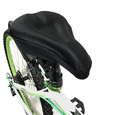 WOSAWE Husă Șa Scaun Extra larg Comfort Gros silicagel Ciclism Bicicletă șosea Bicicletă montană Negru