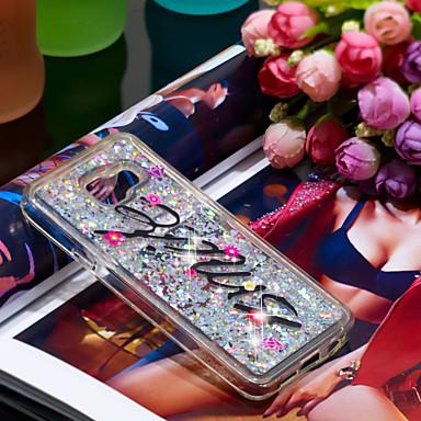 voordelige Galaxy A-serie hoesjes / covers-hoesje Voor Samsung Galaxy A3(2016) Schokbestendig / Glitterglans Achterkant Glitterglans Zacht TPU