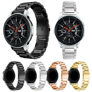 voordelige Horlogebandjes voor Samsung-Horlogeband voor Samsung Galaxy Watch 46 Samsung Galaxy Sportband / Milanese lus Roestvrij staal Polsband