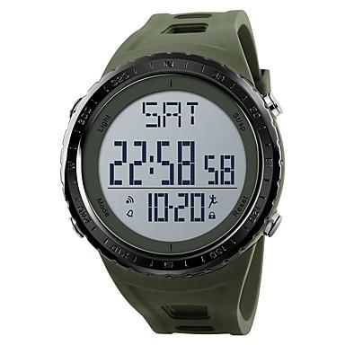 e7e81d0f26b7 abordables Relojes de Hombre-SKMEI Hombre Reloj Deportivo Reloj Militar  Reloj digital Digital Cuero Sintético