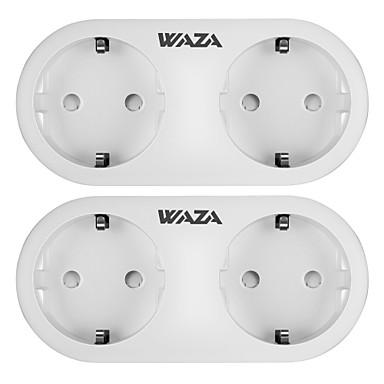 billige Smart Plug-WAZA Smart Plug WAZA SP15 for Daglig / Stue / Soveværelse APP kontrol / Smart / Øko Venlig WIFI 100-240 V