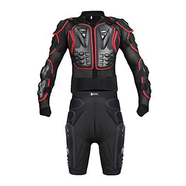Недорогие Средства индивидуальной защиты-спортивный костюм для мотоциклистов wosawe спортивная броня