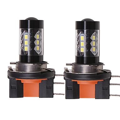 voordelige Autokoplampen-OTOLAMPARA 2pcs H15 Automatisch Lampen 80 W SMD 335 1550 lm 16 LED Koplamp Voor Volkswagen / Ford Tiguan / Golf / S-Max Alle jaren