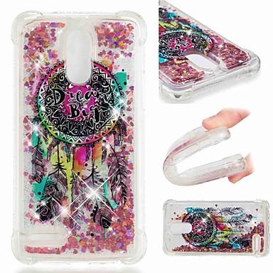 ieftine Carcase / Huse de LG-Maska Pentru LG LG Q Stylus / LG V40 / LG V30 Anti Șoc / Scurgere Lichid / Transparent Capac Spate Prinzător de vise / Luciu Strălucire Moale TPU