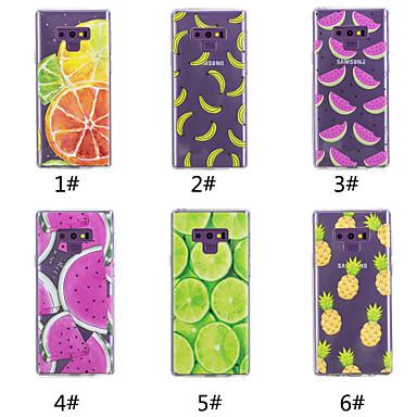 voordelige Galaxy Note-serie hoesjes / covers-hoesje Voor Samsung Galaxy Note 9 / Note 8 Patroon Achterkant Fruit Zacht TPU