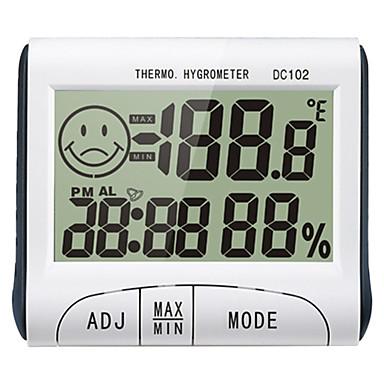 DC102 미니 / 휴대용 습도계 -10℃~50℃ 사무 외 교육용, 가정 생활, 온도 및 습도 측정