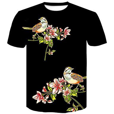 5d32f2f02fc6 Χαμηλού Κόστους Ανδρικά μπλουζάκια και φανελάκια-Ανδρικά T-shirt Κλαμπ  Βασικό   Κομψό στυλ