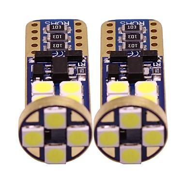 voordelige Motorverlichting-2pcs T10 Motor / Automatisch Lampen 1 W SMD 3528 200 lm 12 LED Richtingaanwijzerlicht / Interior Lights / Zijmarkeringslichten Voor Universeel Alle jaren