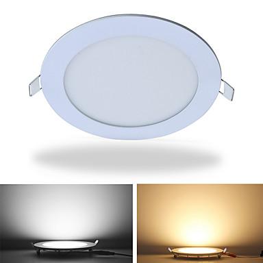 jiawen a condus panoul de lumină rotund ultra-subțire lumina de fundal 12w panou condus lumina pentru iluminat de birou ac85 -265v