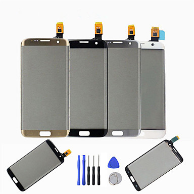 cheap Creative Accessories-For Samsung Galaxy S7 Edge G935 G935F G935A Front Touch Screen Digitizer Display Glass Panel With Repair Tools