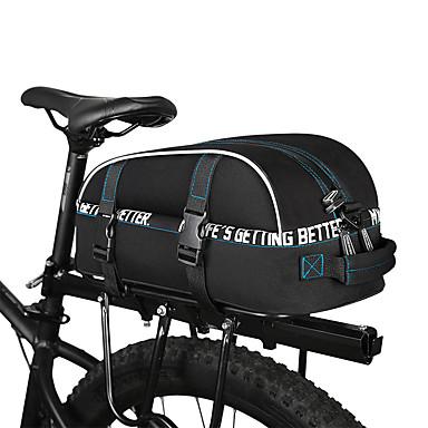 رخيصةأون حقائب الدراجة-ROSWHEEL 8 L حقائب الدراجة للخلف مقاوم للماء مكتشف الأمطار متعدد الطبقات حقيبة الدراجة 600D بوليستر حقيبة الدراجة حقيبة الدراجة أخضر / الدراجة / شرائط عاكسة