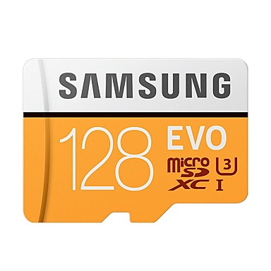 SAMSUNG 128GB Micro SD Card TF Card memory card Class10 U3 C10 4K EVO plus
