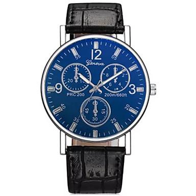 ราคาถูก นาฬิกาแบบสายหนัง-สำหรับผู้ชาย วิศวกรรมนาฬิกา ดิจิตอล หนัง ดำ / น้ำตาล ไม่ จอ LCD อะนาล็อก-ดิจิตอล แฟชั่น Aristo - สีดำ น้ำเงินเข้ม สีน้ำตาล หนึ่งปี อายุการใช้งานแบตเตอรี่