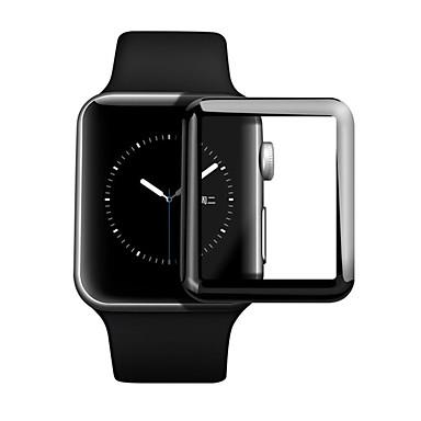 Недорогие Защитные пленки для Apple Watch-Защитная плёнка для экрана Назначение Apple Watch Series 4 Закаленное стекло HD / Уровень защиты 9H / Взрывозащищенный 2 штs