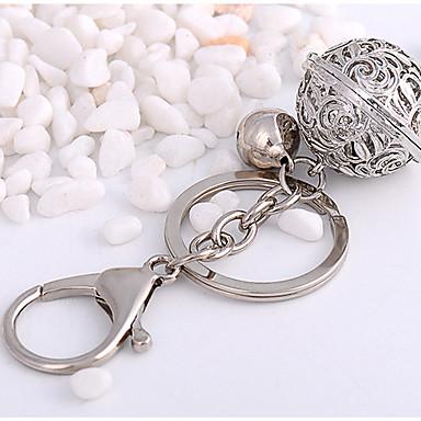 Недорогие Брелоки-Брелок Мода Модные кольца Бижутерия Серебряный Назначение Повседневные Свидание
