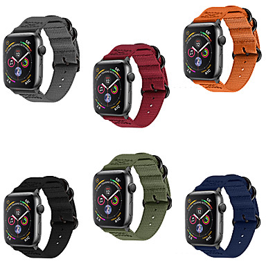 Uhrenarmband für Apple Watch Series 4/3/2/1 Apple Moderne Schnalle Nylon Handschlaufe