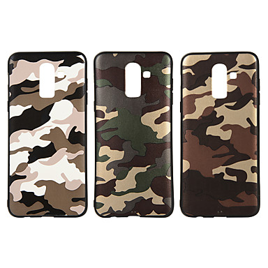Case For Samsung Galaxy J7 (2017) / J5 (2017) Frosted / Pattern Back Cover Camouflage Soft TPU for J8 (2018) / J7 Prime / J7 (2017)