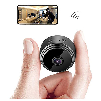 ieftine Camere IP-A9 ip camera de securitate camera mini camera wifi micro microfană cameră video înregistrare video în aer liber versiune de noapte hd wireless monitorizare la distanță telefon telefon android app