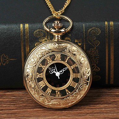 9cf071a9f cheap Pocket Watches-Men's Pocket Watch Quartz Gold Casual Watch Large