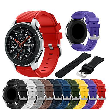 voordelige Horlogebandjes voor Samsung-Horlogeband voor Samsung Galaxy Watch 46 Samsung Galaxy Sportband Silicone Polsband
