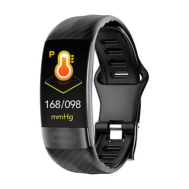 זול אלקטרוניקה חכמה-p11 יוניסקס Smart צמיד Android iOS Blootooth עמיד במים מסך מגע מוניטור קצב לב מודד לחץ דם ספורטיבי ECG + PPG טיימר מד צעדים מזכיר שיחות מד פעילות