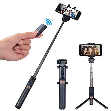 voordelige Bluetooth selfiestick-APEXEL Selfiestick Bluetooth Verlengbaar Maximale lengte 68 cm Voor Universeel Android / iOS Universeel