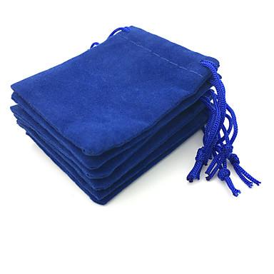 billige Smykkeemballasje og displayer-Kube Smykkeposer - Blå 7 cm 5 cm 0.2 cm / 50stk