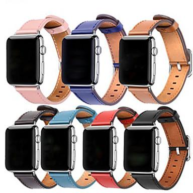 Недорогие Ремешки для Apple Watch-Ремешок для часов для Серия Apple Watch 5/4/3/2/1 Apple Современная застежка Натуральная кожа Повязка на запястье
