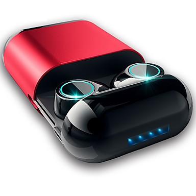 billige Headset og hovedtelefoner-LITBest S7 TWS True Wireless Hovedtelefon Trådløs EARBUD Bluetooth 5.0 Med Mikrofon