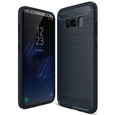 voordelige Galaxy S-serie hoesjes / covers-hoesje Voor Samsung Galaxy S8 Mat Achterkant Effen Zacht TPU