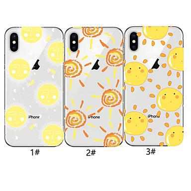 Недорогие Кейсы для iPhone-чехол для яблока iphone xr / iphone xs max pattern задняя крышка 3d мультфильм мягкое тпу для iphone x xs 8 8plus 7 7plus 6 6plus 6s 6s plus