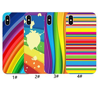 voordelige iPhone 7 hoesjes-geval voor apple iphone xr / iphone xs max patroon achterkant kleurverloop zachte tpu voor iphone x xs 8 8 plus 7 7 plus 6 6 plus 6s 6s plus