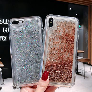 voordelige iPhone 6 Plus hoesjes-hoesje voor apple iphone xs max / iphone x patroon / vloeiende vloeistof achterkant kleurverloop zachte tpu voor iphone 6 / iphone 6 plus / iphone 6s / 6splus / 7/8/7 plus / 8 plus / x / xs / xr / xs