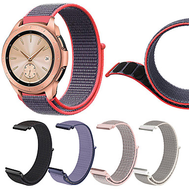 voordelige Horlogebandjes voor Samsung-nylon lus geweven horlogeband polsbandje voor samsung galaxy horloge 42mm / gear s2 klassieke sportband