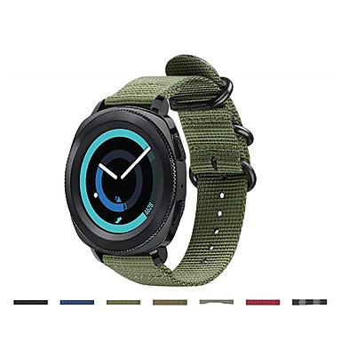 voordelige Smartwatch-accessoires-Horlogeband voor Gear Sport / Samsung Galaxy Watch 42 / Samsung Galaxy Active Samsung Galaxy Sportband Stof / Nylon Polsband