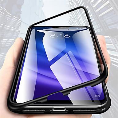 voordelige Huawei Mate hoesjes / covers-hoesje Voor Huawei Mate 10 pro / Mate 10 lite / Huawei Mate 20 lite Transparant Volledig hoesje Effen Hard Metaal