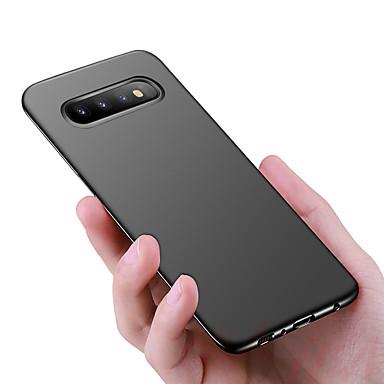 Недорогие Чехлы и кейсы для Galaxy S6 Edge-Кейс для Назначение SSamsung Galaxy S9 / S9 Plus / S8 Plus Защита от удара / Ультратонкий / Матовое Кейс на заднюю панель Однотонный Твердый ПК