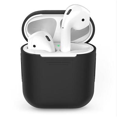 رخيصةأون سماعات الرأس و الأذن-tpu سيليكون حالة سماعة بلوتوث اللاسلكية ل airpods واقية غطاء الجلد الملحقات ل قرون التفاح شحن الهواء مربع