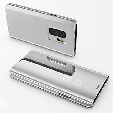 Χαμηλού Κόστους Θήκες / Καλύμματα για Huawei-tok Για Huawei Huawei P30 Pro / P9 Ανθεκτική σε πτώσεις / με βάση στήριξης / Καθρέφτης Πλήρης Θήκη Μονόχρωμο Σκληρή PC για Huawei P20 / Huawei P20 Pro / Huawei P20 lite