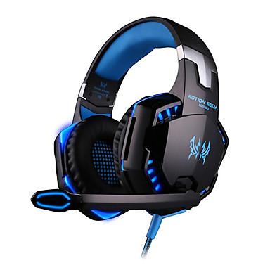 Недорогие Наушники для геймеров-LITBest G2000 Игровая гарнитура Проводное Игры С подавлением шума