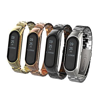 billige Klokkeremmer til Xiaomi-Klokkerem til Mi Band 3 Xiaomi Sommerfugle Spenne / Smykkedesign Metall / Rustfritt stål Håndleddsrem